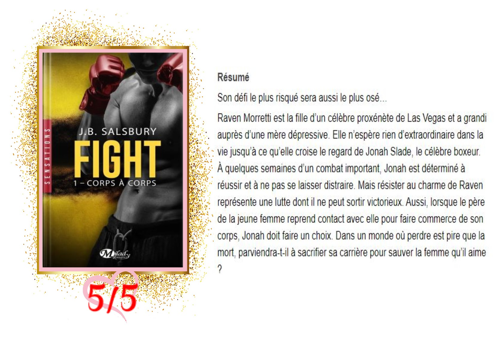 Fight tome 1 corps à corps avis