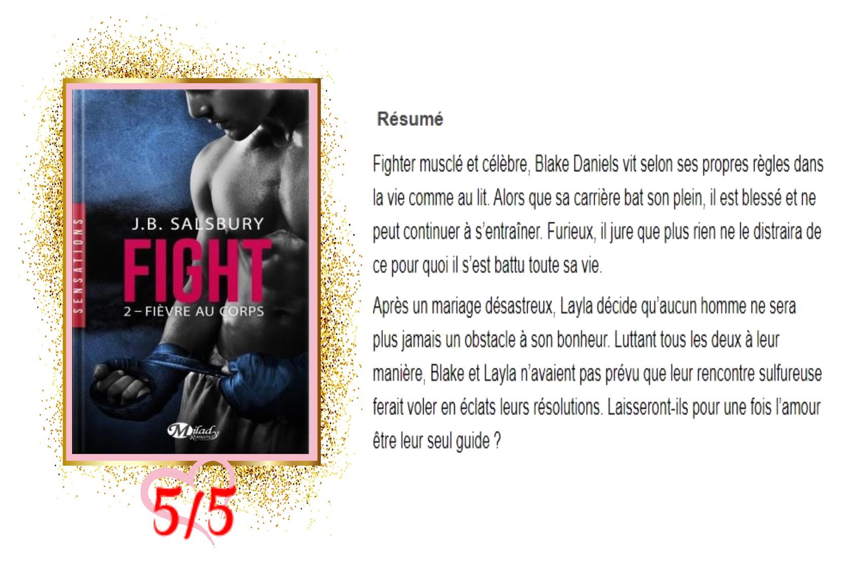 Fight tome 2 fièvre au corps avis