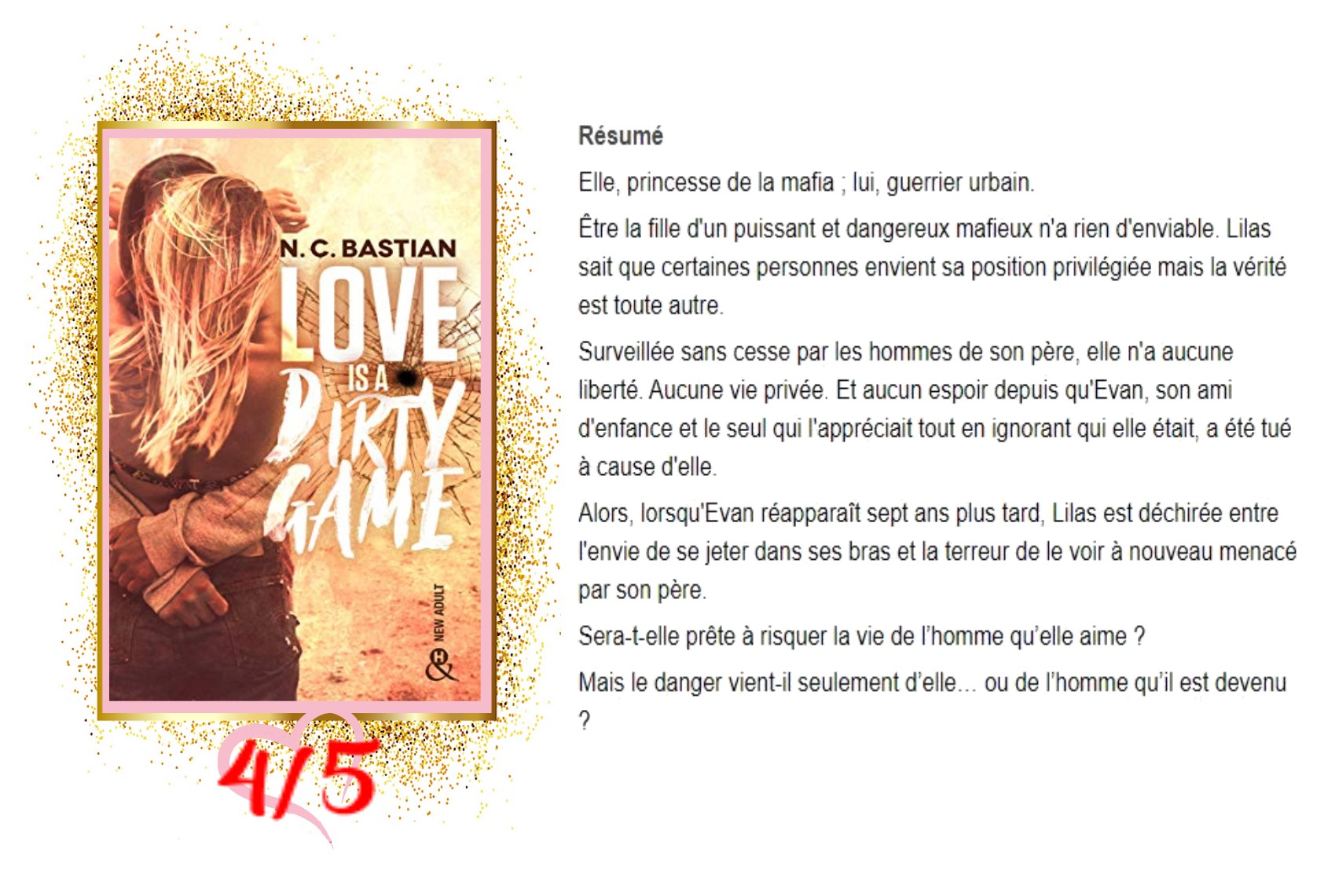 Love is a dirty game avis