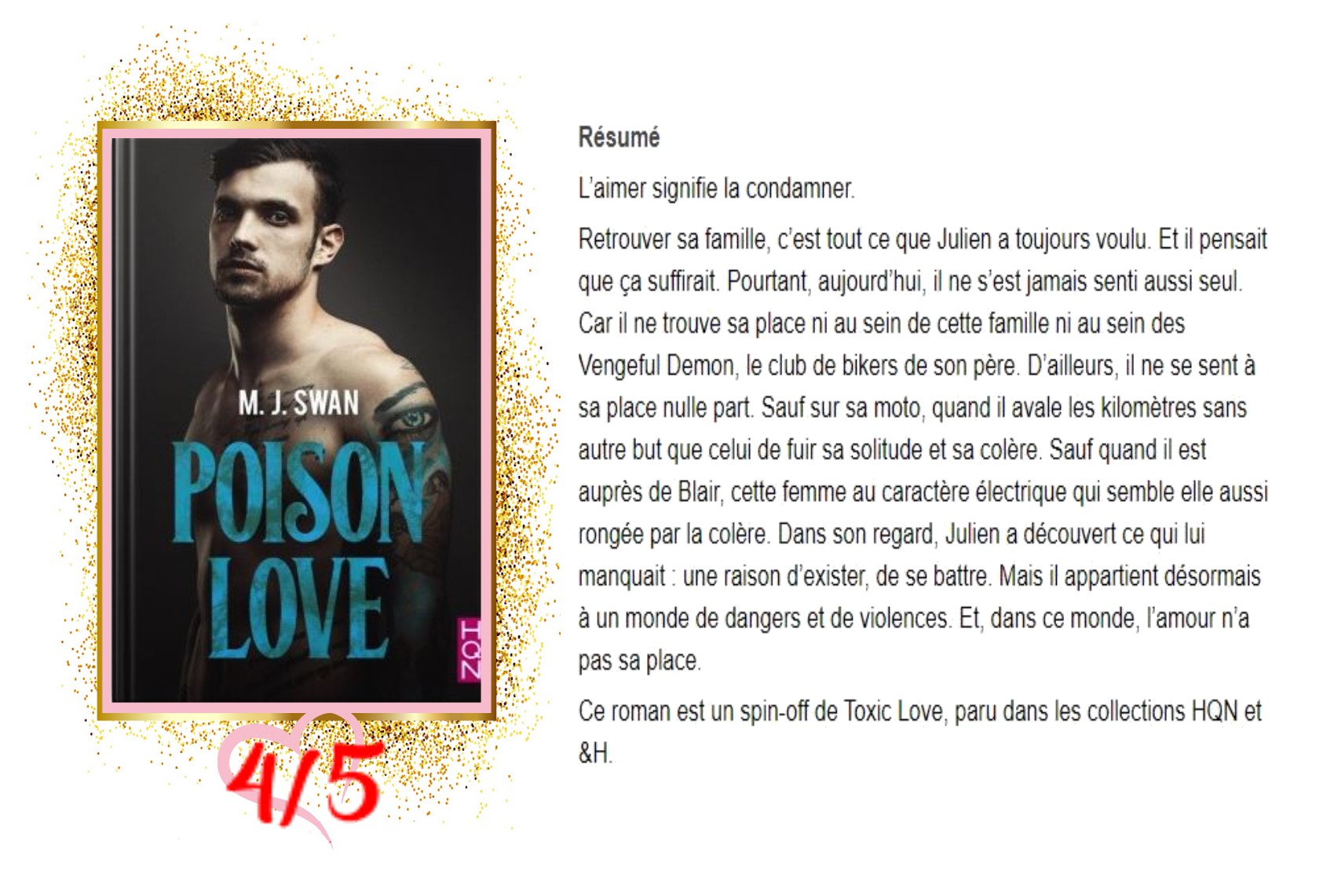 Poison Love avis