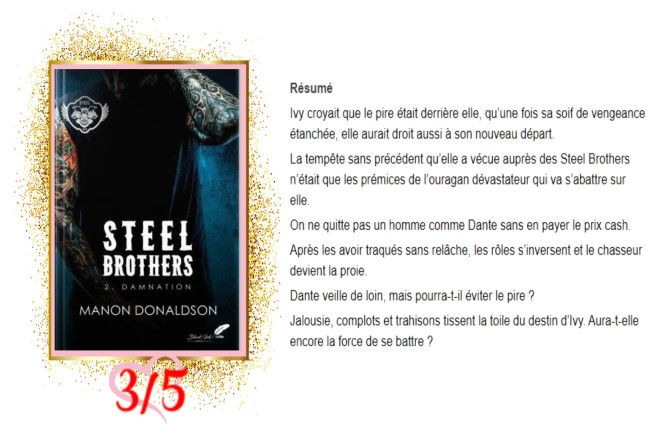 Steel Brothers, tome 2 Damnation avis