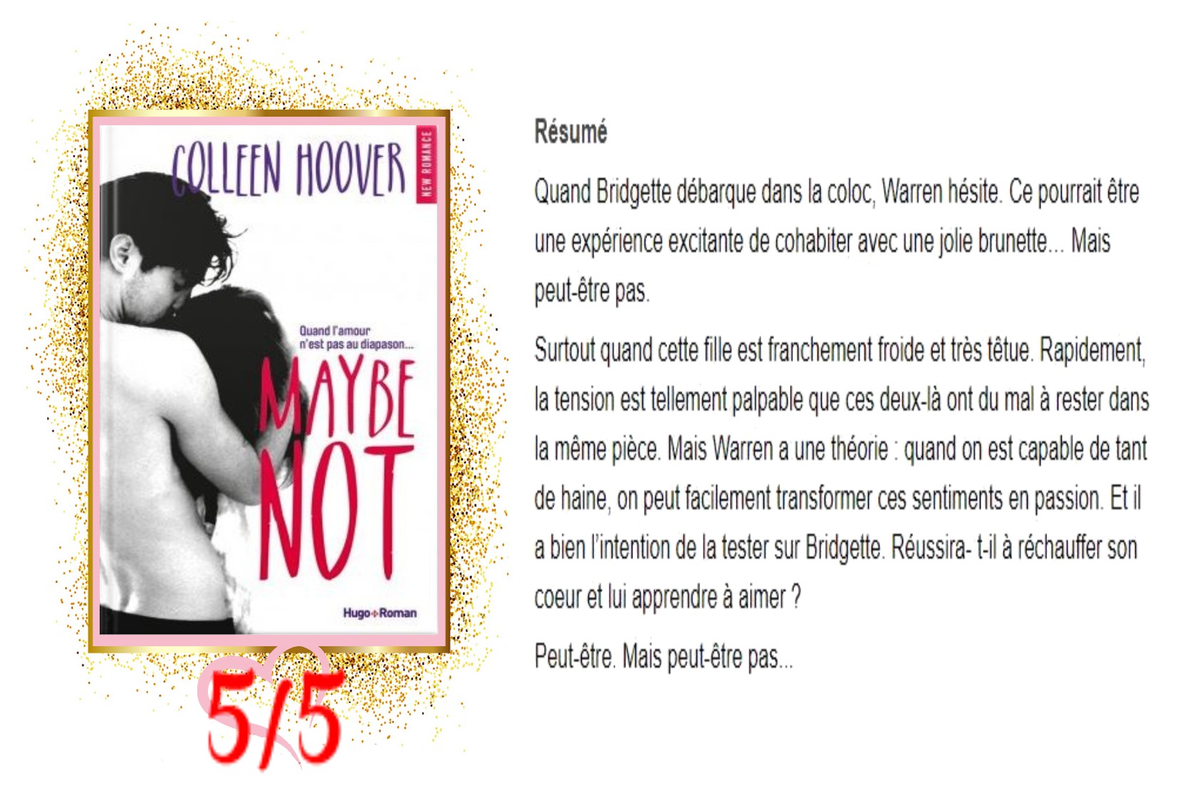 Maybe, Tome 1,5 Maybe Not avis